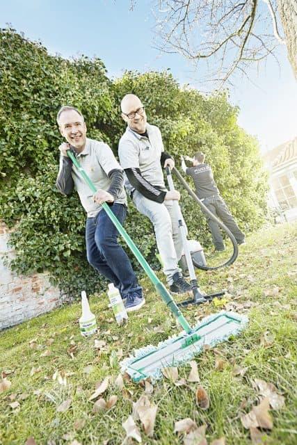 rengøring til virksomheder - thumps up